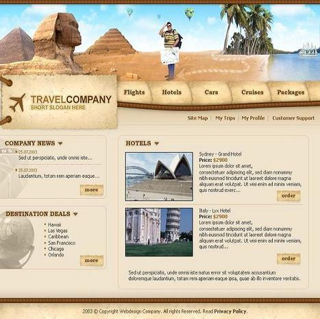 Web Design: Smart Solution to Market Your Travel Business | Travel Site Features | Scoop.it