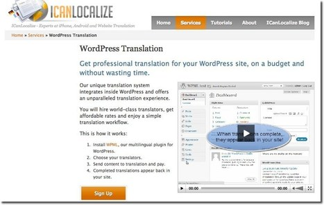 How to Hire Professional Translators From Your WordPress Dashboard | WPLANG | Translation Memory | Scoop.it