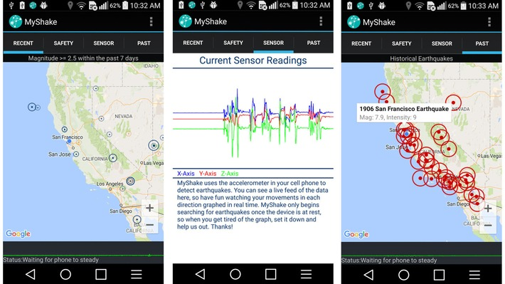 Cellphones Can Now Detect Earthquakes | FUTURE of INNOVATION | Scoop.it
