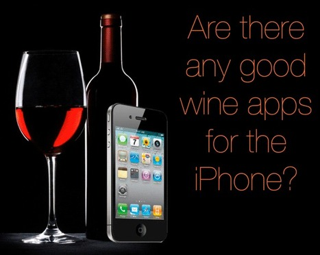 Are there any good wine apps for the iPhone? ★ The Infographics Showcase | infographies | Scoop.it