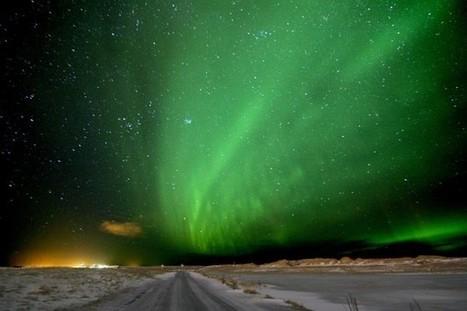 Aurora over Reykjavik, Iceland | EarthSky.org | Sustainable Futures | Scoop.it