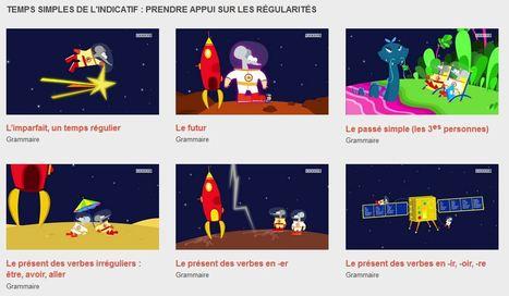Grammaire- Les animations des Fondamentaux - Réseau Canopé | Ressources numériques | Scoop.it