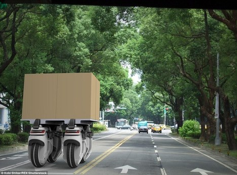Swarms of robotic unicycles may deliver packages in the future | Robolution Capital | Scoop.it
