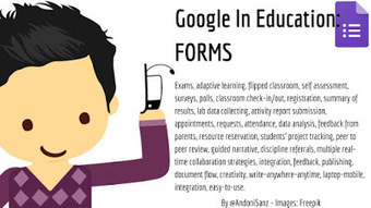Techknowledgeschool: #Google apps for #education #gafe - #Forms #edtech by @AndoniSanz   Blended Learning   Scoop.it