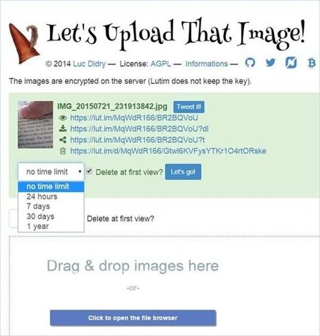 Envoyer des images qui peuvent s'autodétruire une fois lues | Mes ressources personnelles | Scoop.it