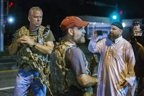 Armed 'Patriot' Group Roams Ferguson With Assault Rifles | Upsetment | Scoop.it