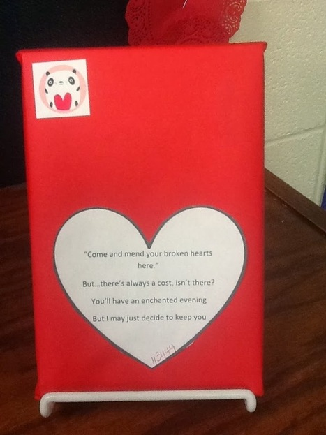The Sassy Bibliophile: Blind Date with a Book | Creativity in the School Library | Scoop.it