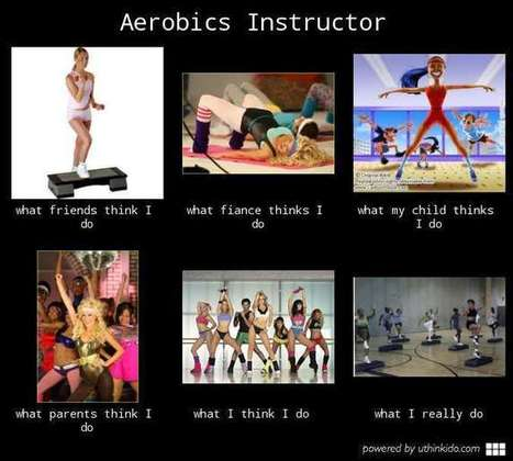 Aerobics Instructor | What I really do | Scoop.it