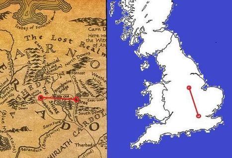 ¿Cuánto caminaron en realidad Frodo y Sam en El Señor de los Anillos? | educacion-y-ntic | Scoop.it