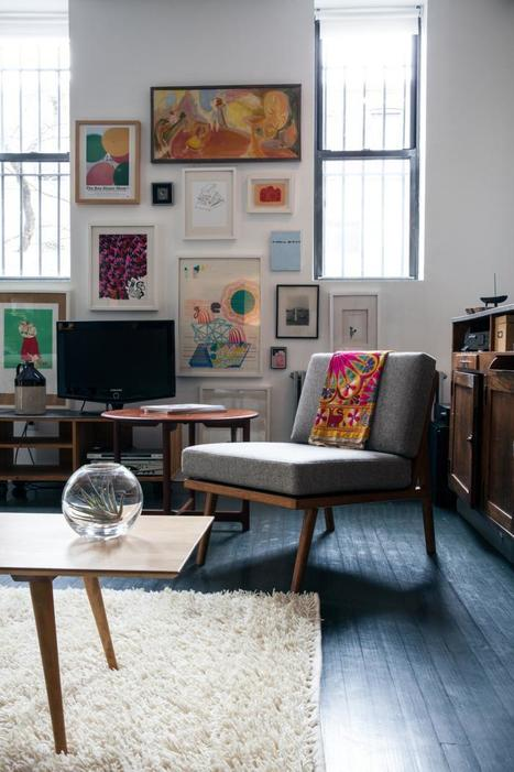 The Unplanned Designers' Loft/ex Paint Factory in Bed-Stuy,Brooklyn . | Raw and Real Interior Design | Scoop.it