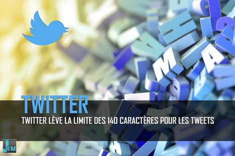 #Twitter lève la limite des 140 caractères pour ses tweets | Social media | Scoop.it