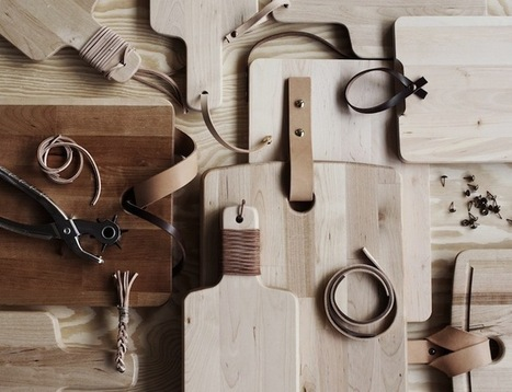 DIY: A Hipster Cutting Board : Remodelista | puuta | Scoop.it