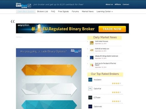 Are you searching for binary options cash back | Carla Kay | Scoop.it