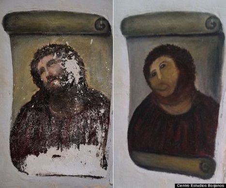 La pire restauration d'Art de tous les temps | Mais n'importe quoi ! | Scoop.it