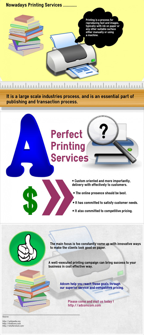 Printing Services in Singapore   infographicsmaker   Scoop.it