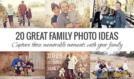 20 Great Family Photo Ideas For Perfect Poses | Portrait Photography Hub | Scoop.it