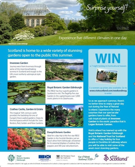VisitScotland, the National Trust for Scotland and Royal Botanic Gardens team ... - The Drum | Independence for Scotland, It's Coming Soon! | Scoop.it