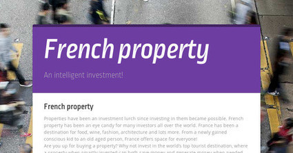 French property | France Property Magazine | Scoop.it