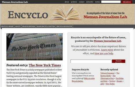 Encyclo - Pushing to the Future of Journalism | Top sites for journalists | Scoop.it