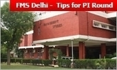 FMS Delhi Admission 2015: 5 tips to ace PI round; begins on April 14 | MBA Universe | Scoop.it