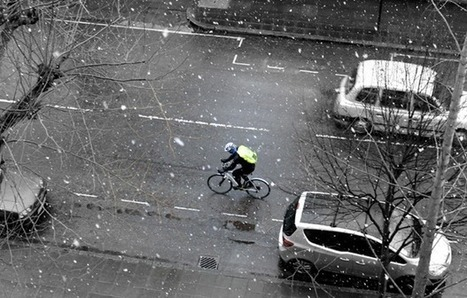 Cycling in the snow - London Cyclist Blog   SportActive Cycling tips   Scoop.it