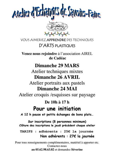 Ateliers d'arts plastiques avec l'AIREL | Vallée d'Aure - Pyrénées | Scoop.it
