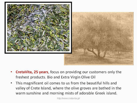 #CretaVita : Cretan Olive Oil Factory. You are welcome to visit us ! | CretaVita Extra Virgin Olive Oil Producer #OliveOil #EVOO | Scoop.it