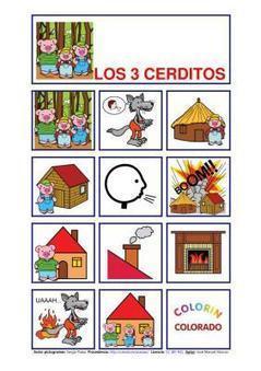 Cuentos con pictogramas | Español para los más pequeños | Scoop.it
