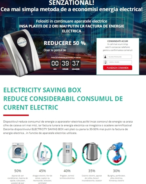 "Cum sa reduci legal factura la curentul electric cu ""EnergySaver"" 