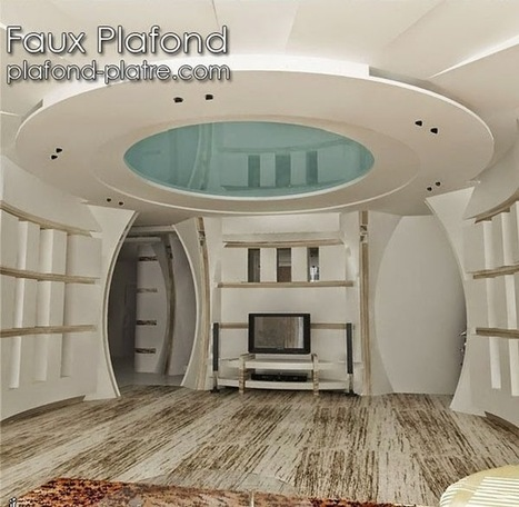 39 plafond moderne 39 in faux plafond en forme d 39 un papillon. Black Bedroom Furniture Sets. Home Design Ideas