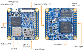 Tiny, open, $18 quad-core SBC has WiFi, BT, eMMC, microSD | Raspberry Pi | Scoop.it