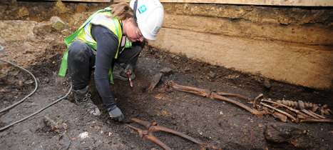 Early church and burials found at Lincoln castle : Archaeology News from Past Horizons | Archaeology News | Scoop.it