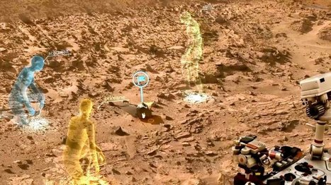 NASA And Microsoft Using HoloLens To Make It Possible To Work Remotely… OnMars | Collective Intelligence & Distance Learning | Scoop.it