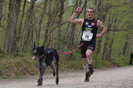 Antony Lemoigne et son chien champions de France de canicross | Le sport avec un chien - Sport with dogs | Scoop.it