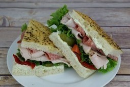 Delicious Turkey and Salami Panini - Ingallina's Box Lunch Seattle | Box lunch | Scoop.it