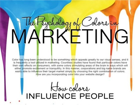 The Psychology of Color in Marketing | CREATIVITY | Scoop.it