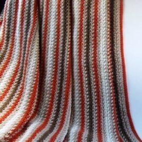 Fall Striped Afghan | Crochet | Scoop.it