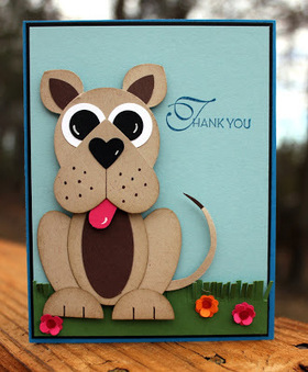 AnnMarie's Stamping Adventures!!: Punch-y thank you to you! | scoop? | Scoop.it