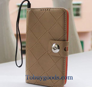 New Grey PU Leather Wallet Flip Case Cover Card Pouch for Samsung Galaxy N7100   here are some good goods form tobuygoods   Scoop.it