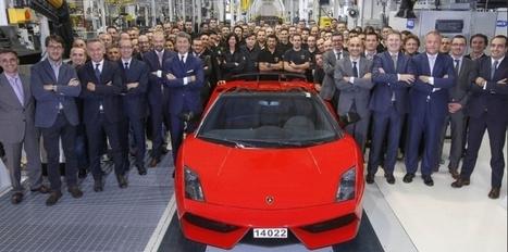 Fin de carrière pour la Lamborghini Gallardo - Challenges.fr | Auto Premium | Scoop.it