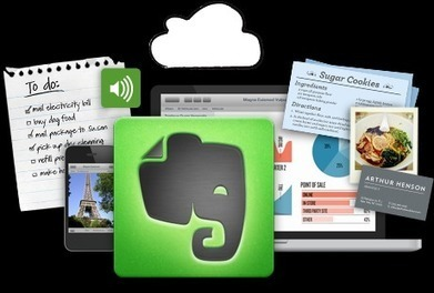 Evernote – Un cuaderno virtual   Ambientes Personales de Aprendizaje. (PLE)   Scoop.it