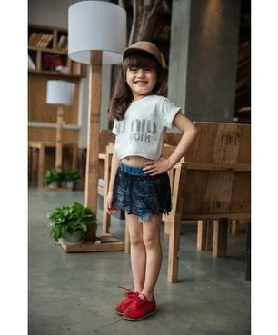 Baby Girl Short Shirt Fashion Style Summer Clothes | Clothing at SMA-STAR | Scoop.it