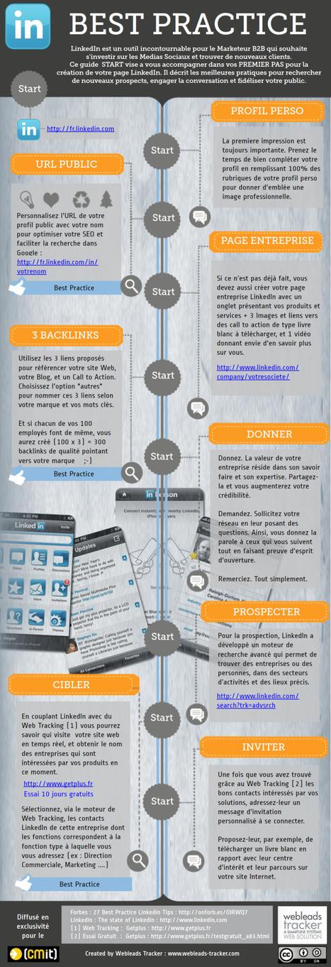LinkedIn best pratice | Time to Learn | Scoop.it