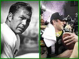Rodgers, Starr share startling similarities - TODAY'S TMJ4 | Famous Packers' QBs. | Scoop.it