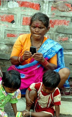 Cell-Phone-Enabled Empowerment of Women Earning Less than $1/Day | Education for Sustainable Development | Scoop.it