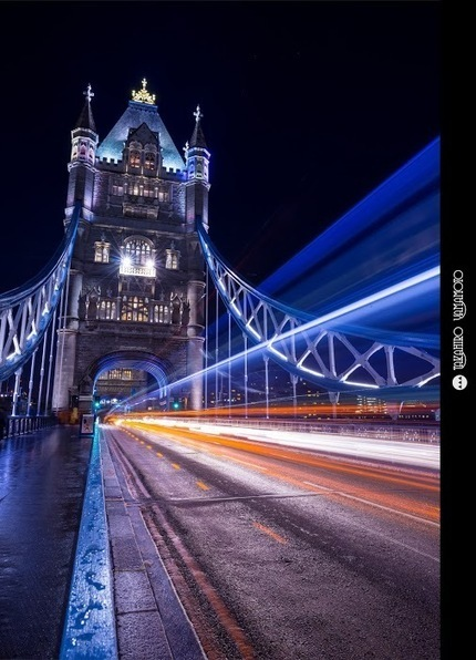 Light-painted Tower Bridge<br/><br/>It was rainy on the second day in London. So when I reached the Tower &hellip; [photo] | king-solarman-s-solar-light-tower | Scoop.it