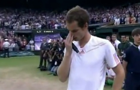 Andy Murray's Teary Wimbledon Speech Is Why We Love Sports [VIDEO] | Miscellaneous interests | Scoop.it
