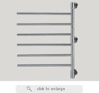Swivel JR-D006 Jack Plug-In Heated Towel Warmer By Amba Towel Warmers | Towel Warmers | Scoop.it