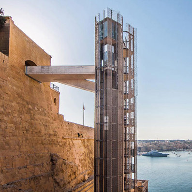 [Valletta, Malta] Barrakka Lift by Architecture Project | The Architecture of the City | Scoop.it