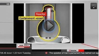NHK WORLD ( Eng Trad)  TEPCO: Le combustible a fondu la cuve de confinement | FUKUSHIMA INFORMATIONS | Scoop.it